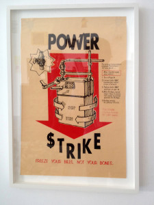 Anonymous poster -- the Black Cat Collective -- tells how to turn your gas meter backwards.